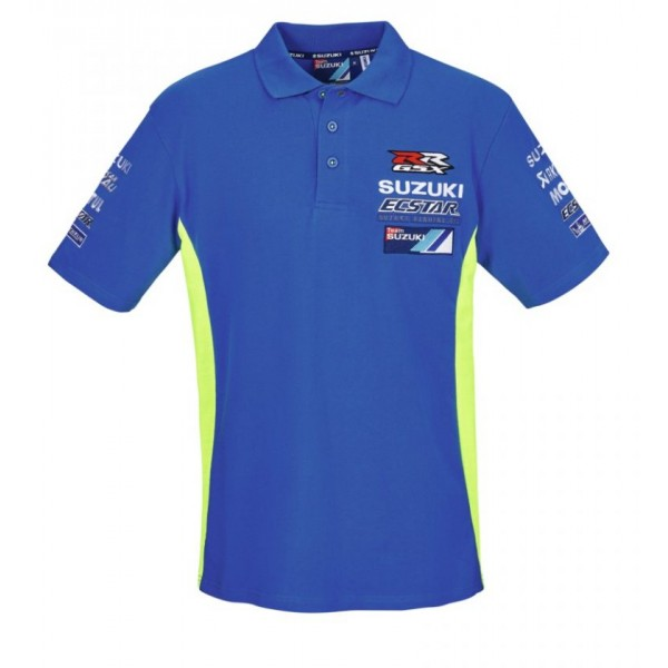 Suzuki 2017 MotoGP Team Polo Shirt Mens