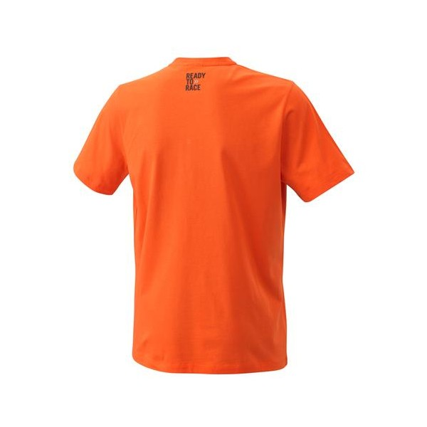 KTM Pure Logo Tee - Orange