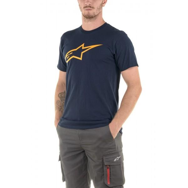 Alpinestars Ageless Classic T-Shirt Navy/Orange