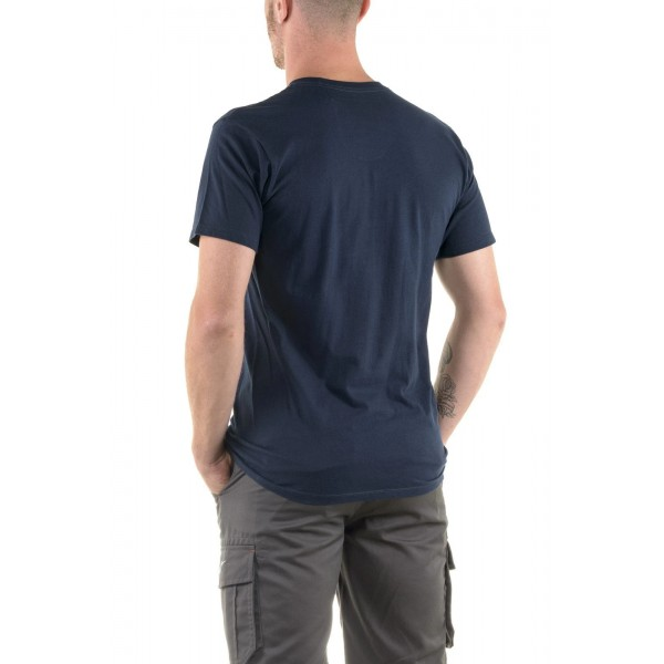 Alpinestars Ageless Classic T-Shirt Navy/Orange