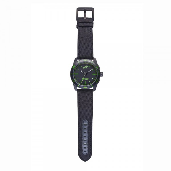 Alpinstars Tech Watch 3H Black-Black/Green