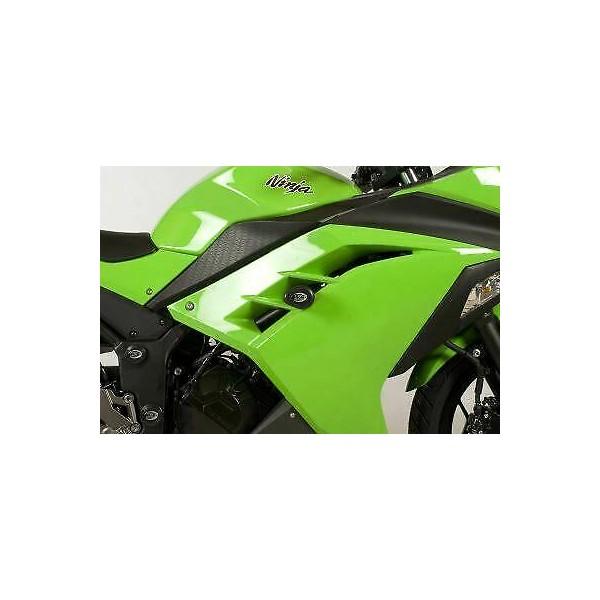 Kawasaki Ninja 300/Ninja 250 Crash Protectors - Aero Style for Kawasaki Ninja 300 (2012)