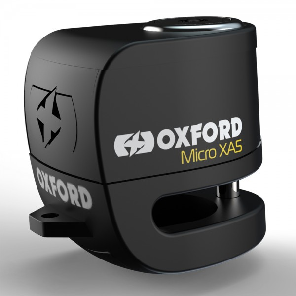 Oxford Micro XA5 Alarm Disc Lock Black/Black