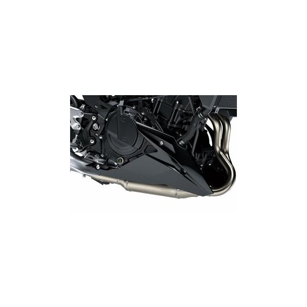 Lower cowling (belly pan) - black metallic (Metallic Spark Black)