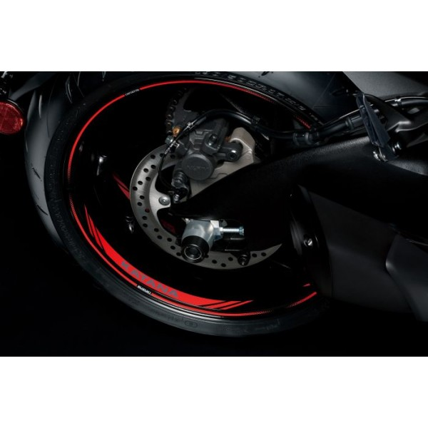 Suzuki Katana Wheel Decal Red (one Wheel)