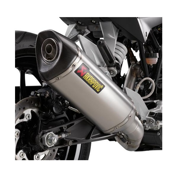 "KTM Akrapovic ""Slip-On Line"" Stainless Steel exhaust"