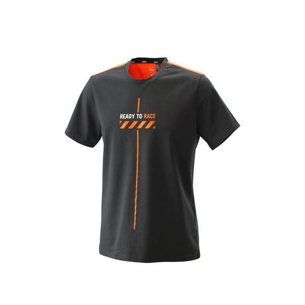 KTM Pure Style Tee Black 2021
