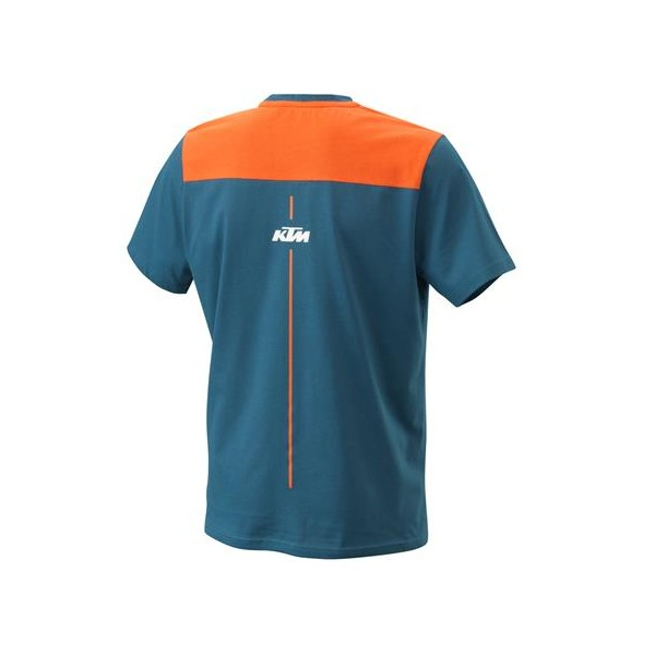 KTM Pure Style Tee Blue 2021