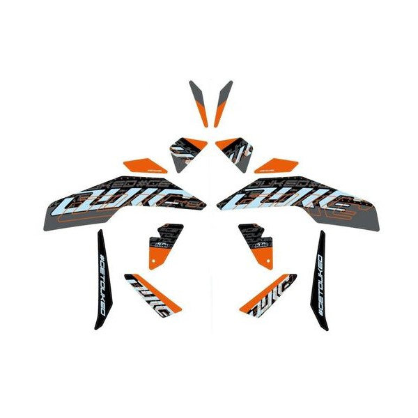 KTM Style Graphics Kit - NEW for 2021