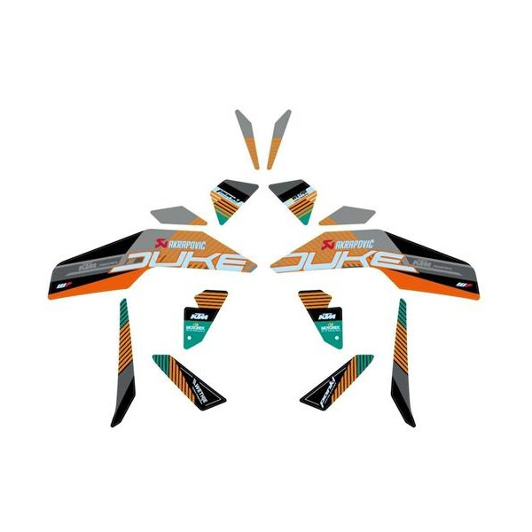 KTM Factory Graphics Kit - NEW for 2021