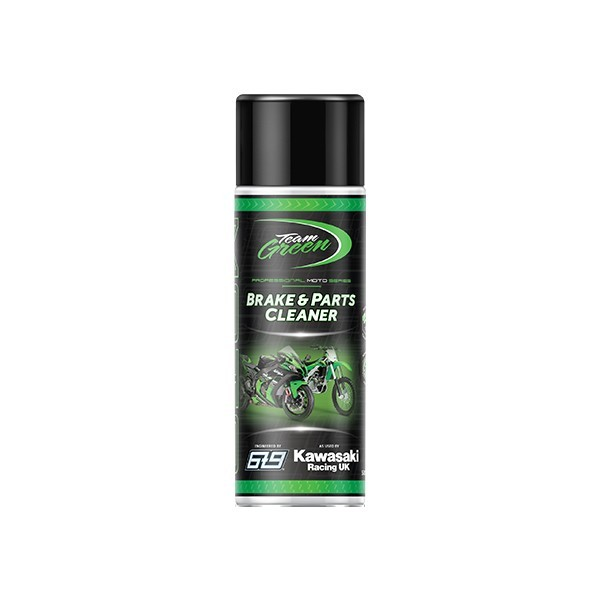 Kawasaki Team Green Brake and Parts Cleaner