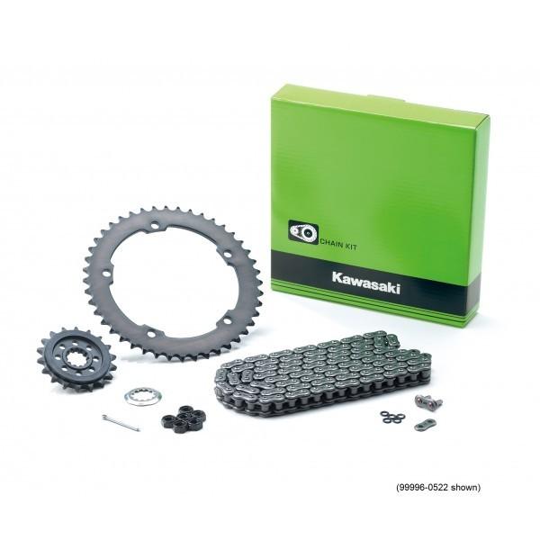 Kawasaki ER6/Versys 650 Genuine chain and sprocket kit