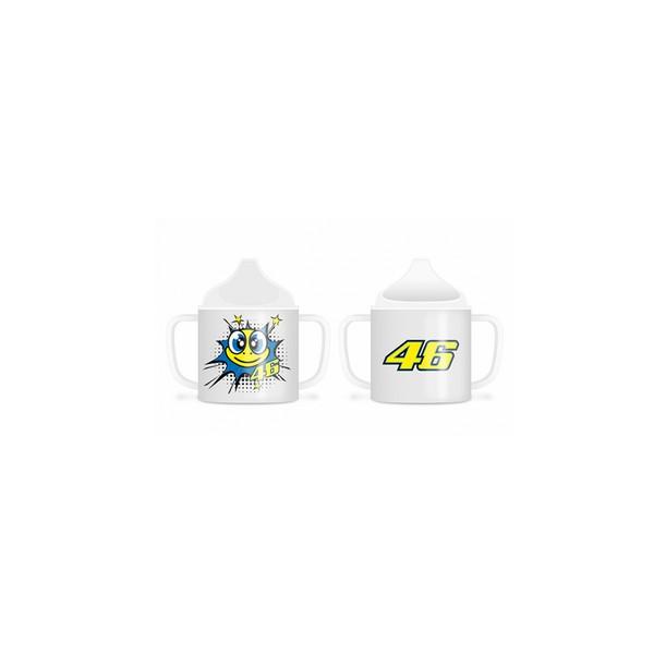VR46 BABY CUP POP ART WHITE