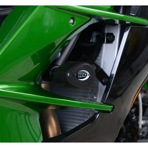 R&G Aero Style Crash Protectors Kawasaki H2 SX 2018>