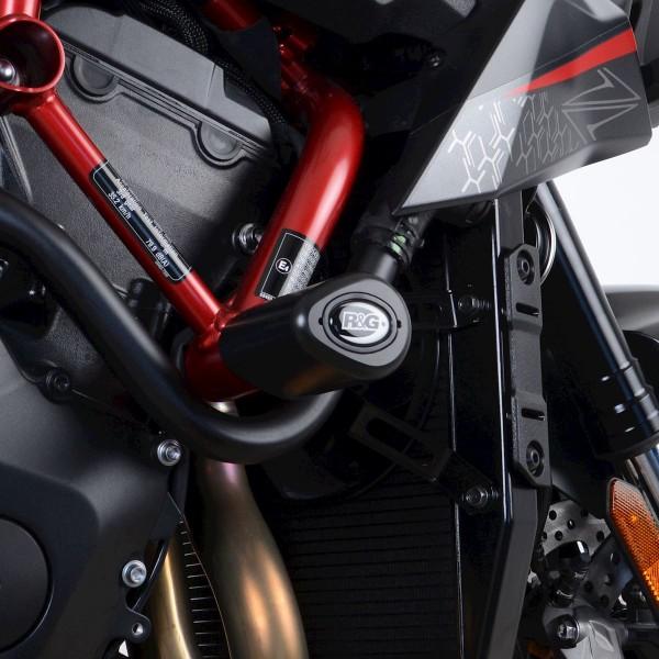 R&G Aero Crash Protectors Kawasaki ZH2 2020 Black