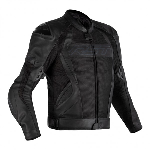 RST Tractech Evo 4 Leather Mesh CE Mens Leather Jacket