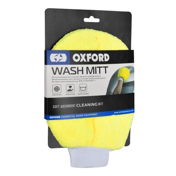 Oxford Wash Mitt Yellow