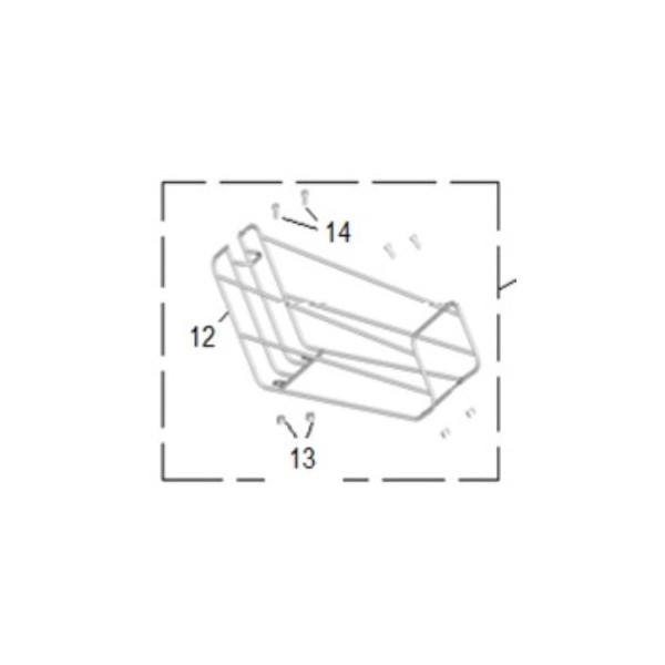 Keeway E-ZI Mini Foot Basket Assembly