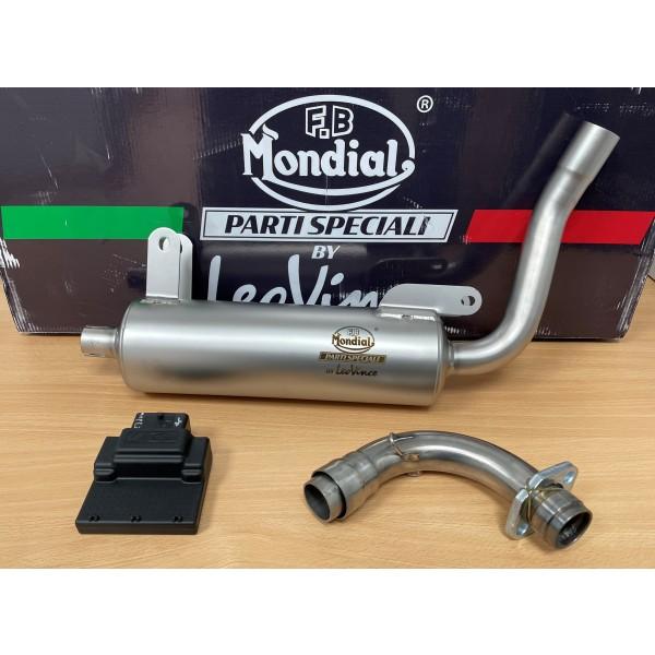 FB Mondial HPS / Flat track 125 Performance Exhaust System 2021 ->