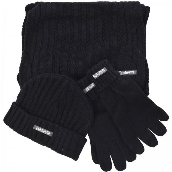 Lambretta Hat, Scarf & Glove Set