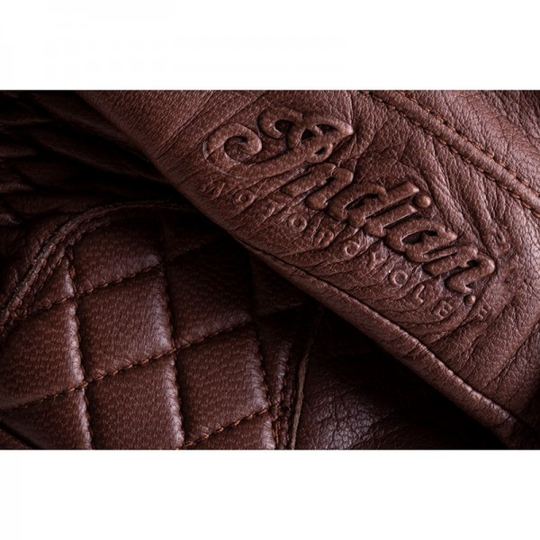 Indian Leather Getaway Riding Gloves - Brown