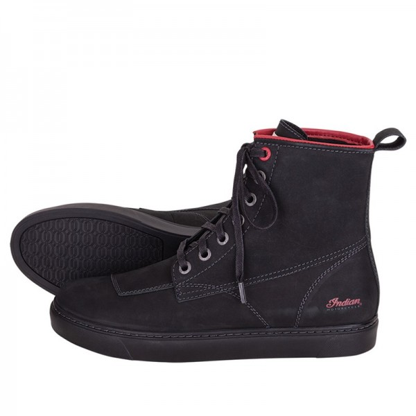 Indian Bryant Leather Motorcycle Sneaker