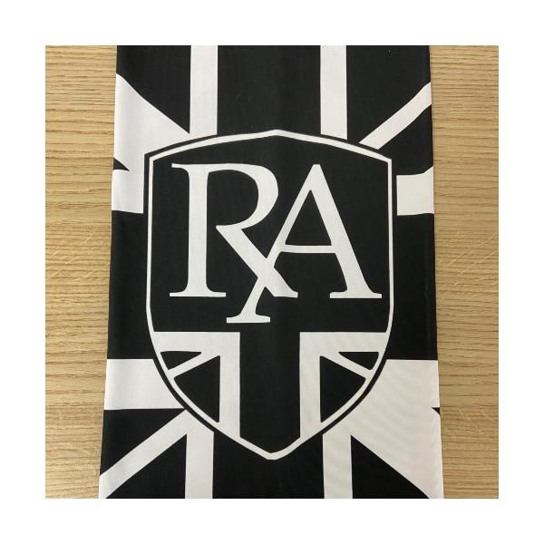 Royal Alloy Neck Tube Union Jack (Black & White)