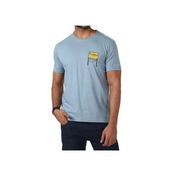 Royal Enfield Khardungla T-Shirt - Sea Blue