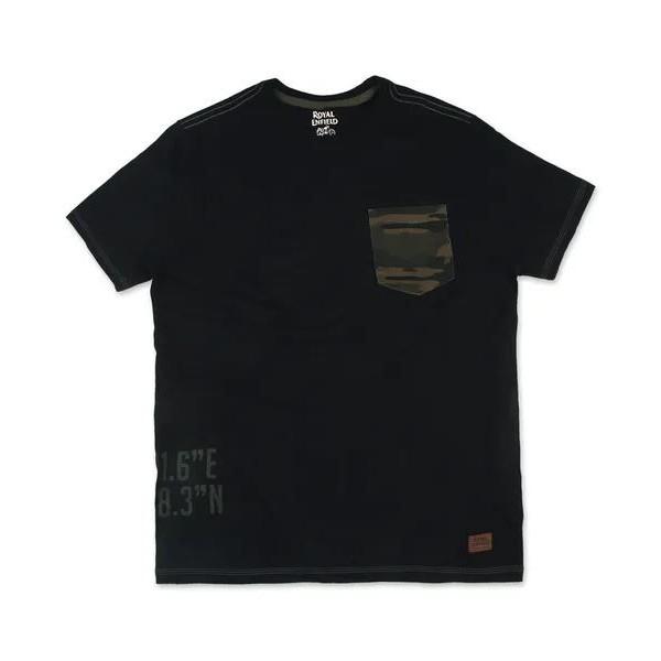 Royal Enfield Cammo MLG T-Shirt - Black