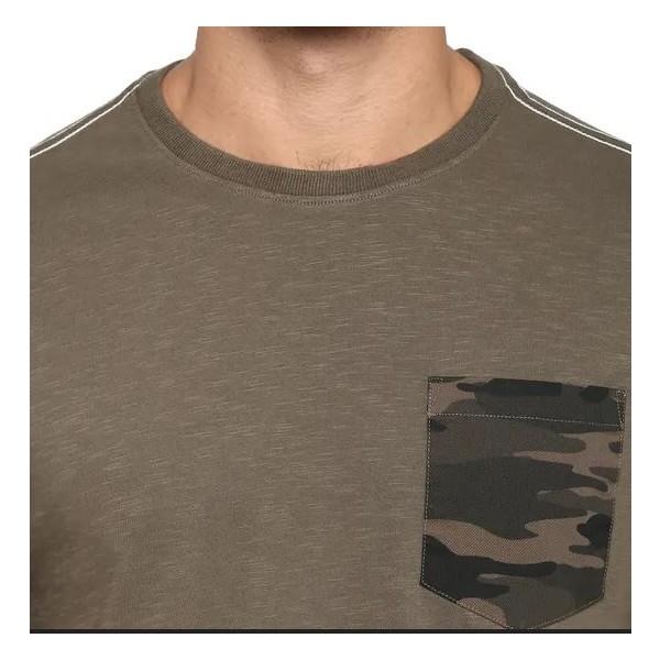 Royal Enfield Cammo MLG T-Shirt - Dark Olive