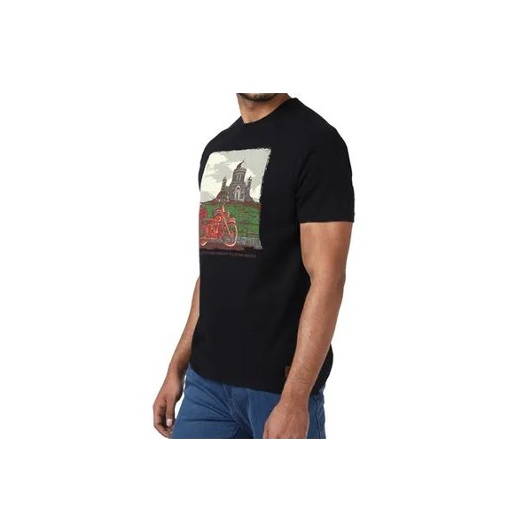 Royal Enfield Basilica Of Esztergom T-Shirt - Black