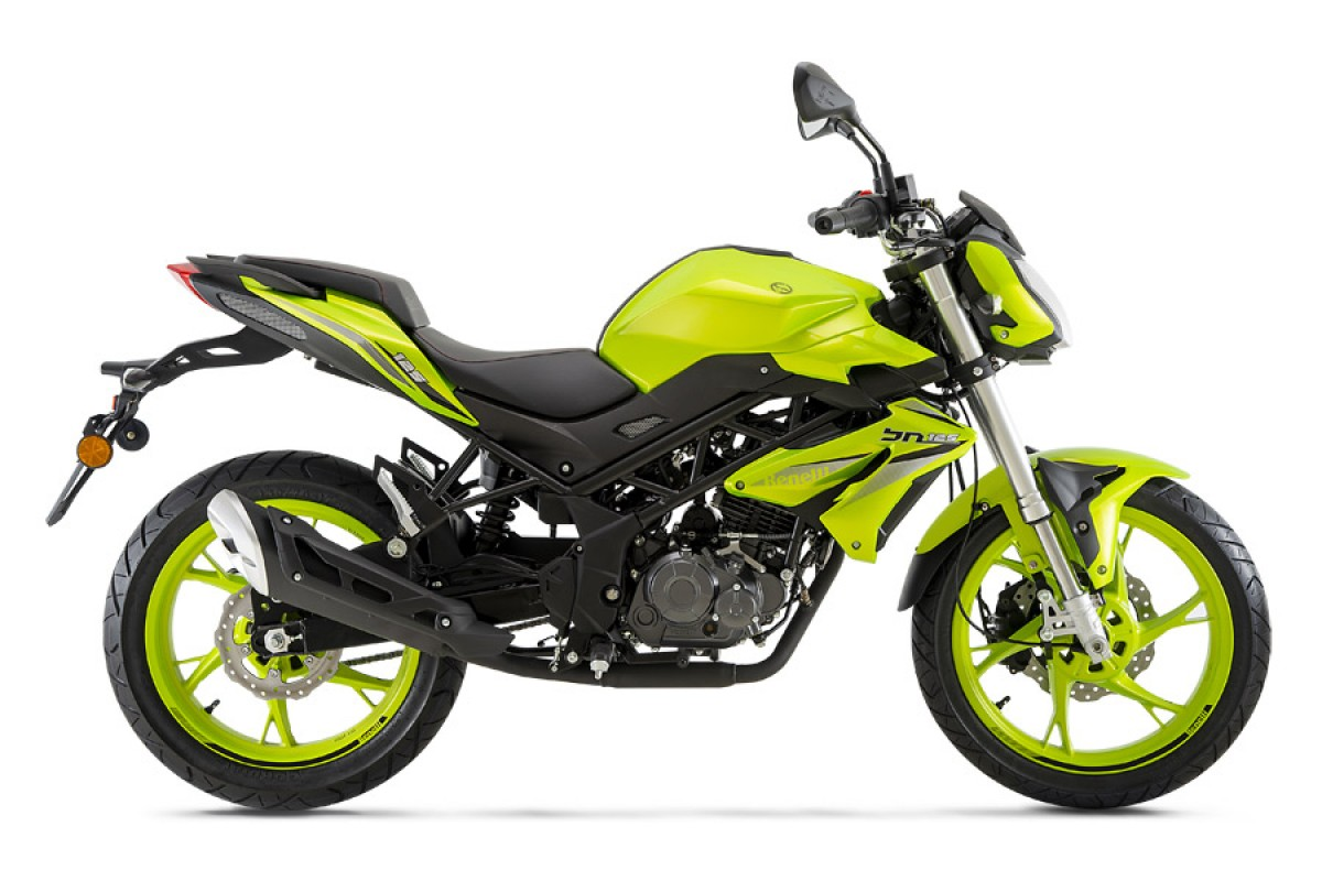Flash Green BN 125cc