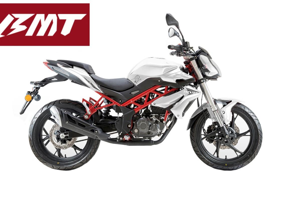 White BN 125cc
