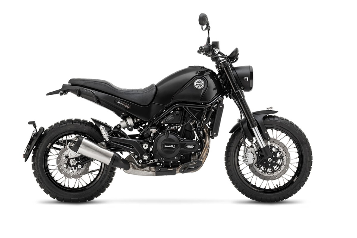 Black Leoncino 500cc Trail