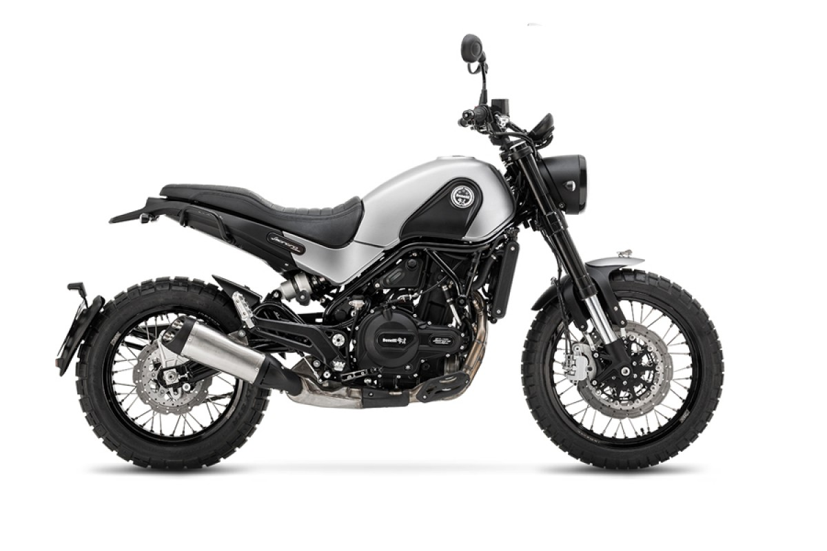 Grey Leoncino 500cc Trail