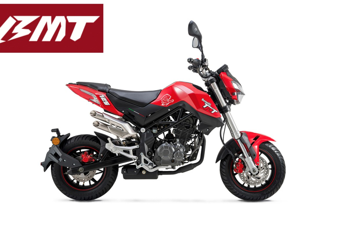Red TNT 125cc