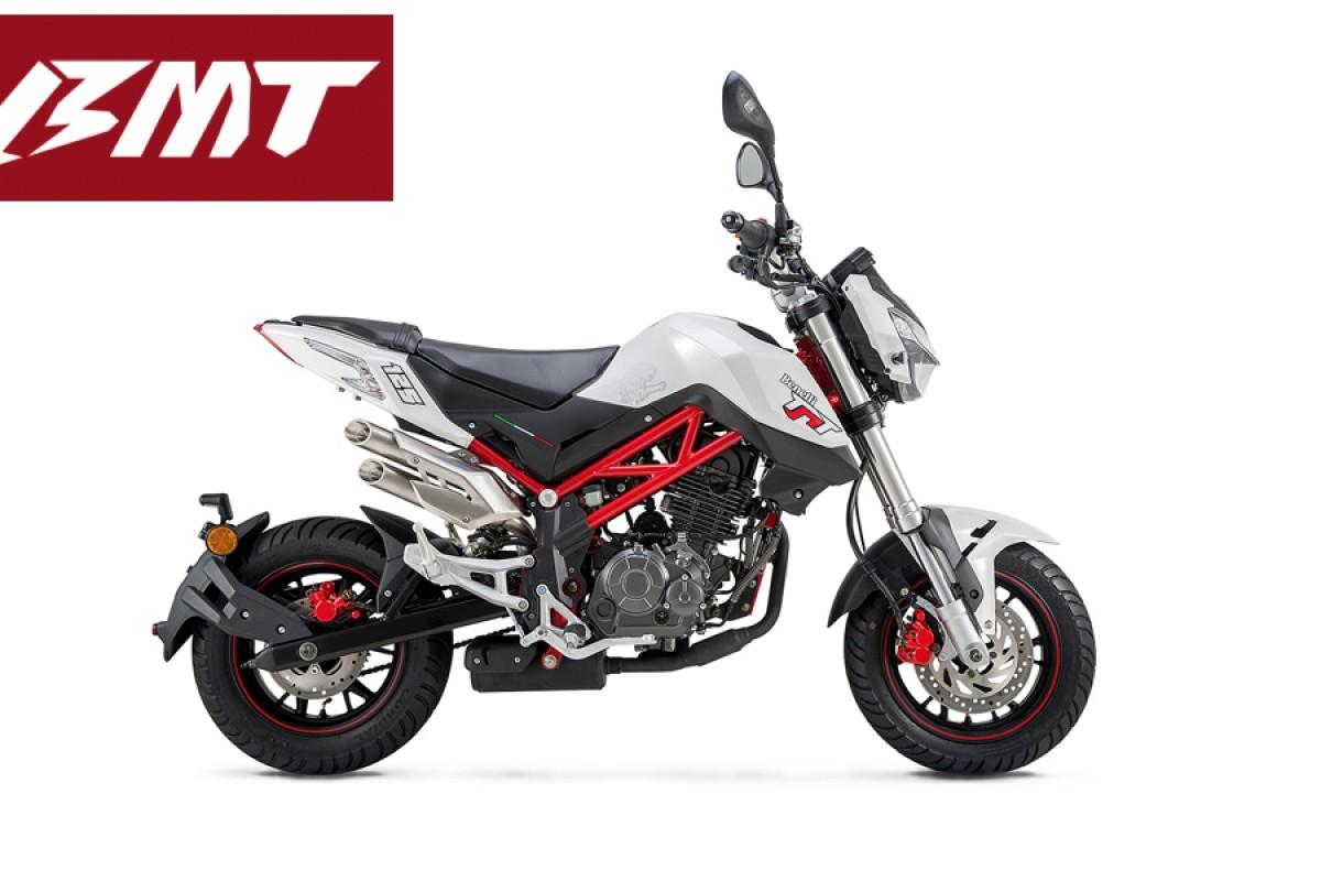 White TNT 125cc