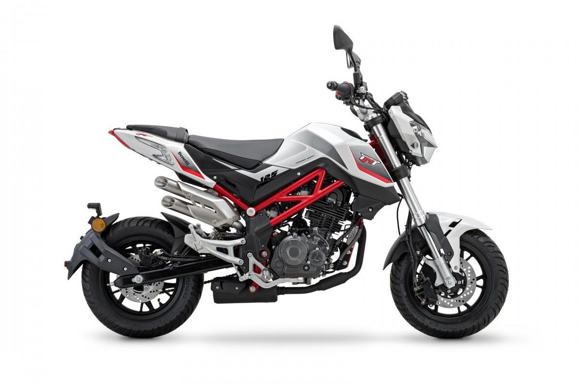 White/Red frame TnT 125cc