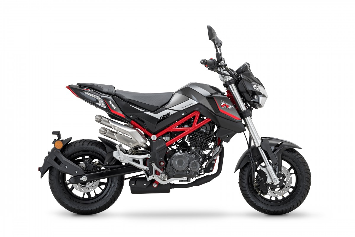 Black/Red Frame TnT 125cc