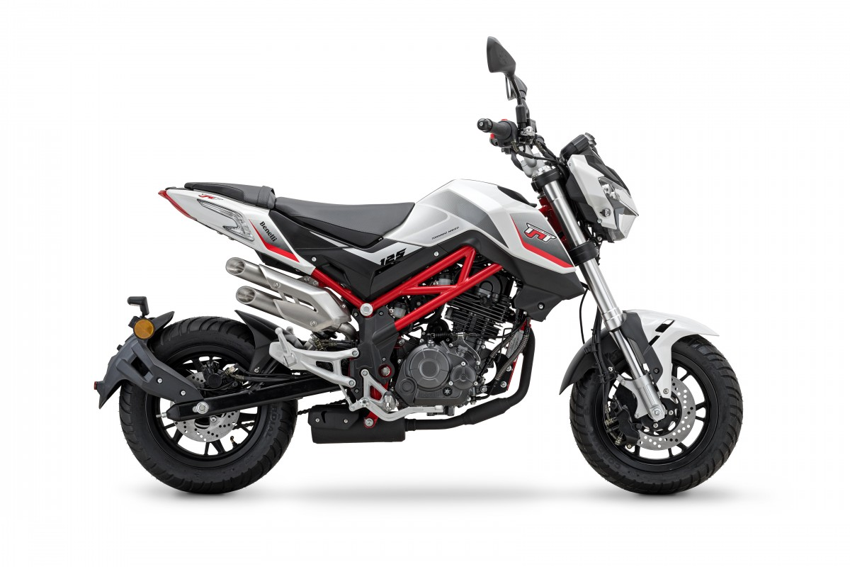 White/Red frame TnT 125cc