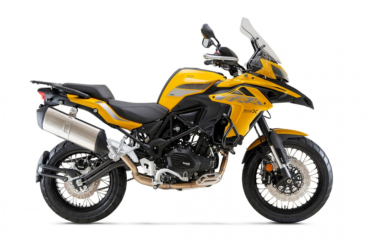 Yellow/Black TRK 502 X