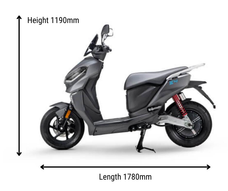 Dimensions MGB E4 1200W Long Range