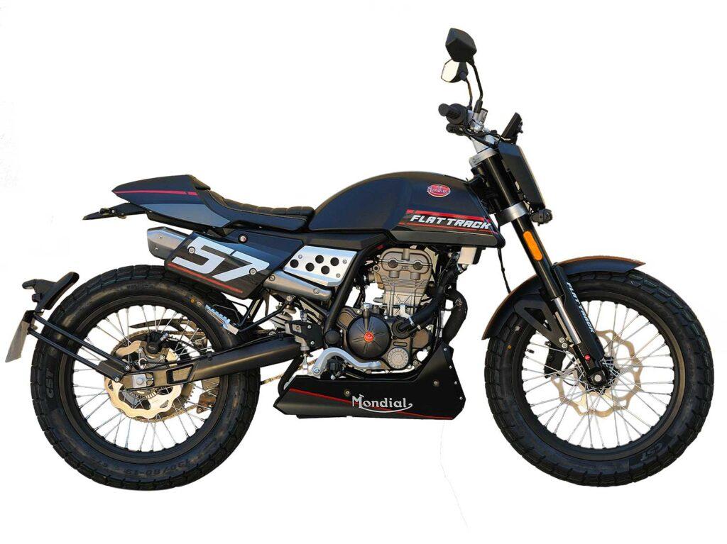 Black Flat Track 125cc