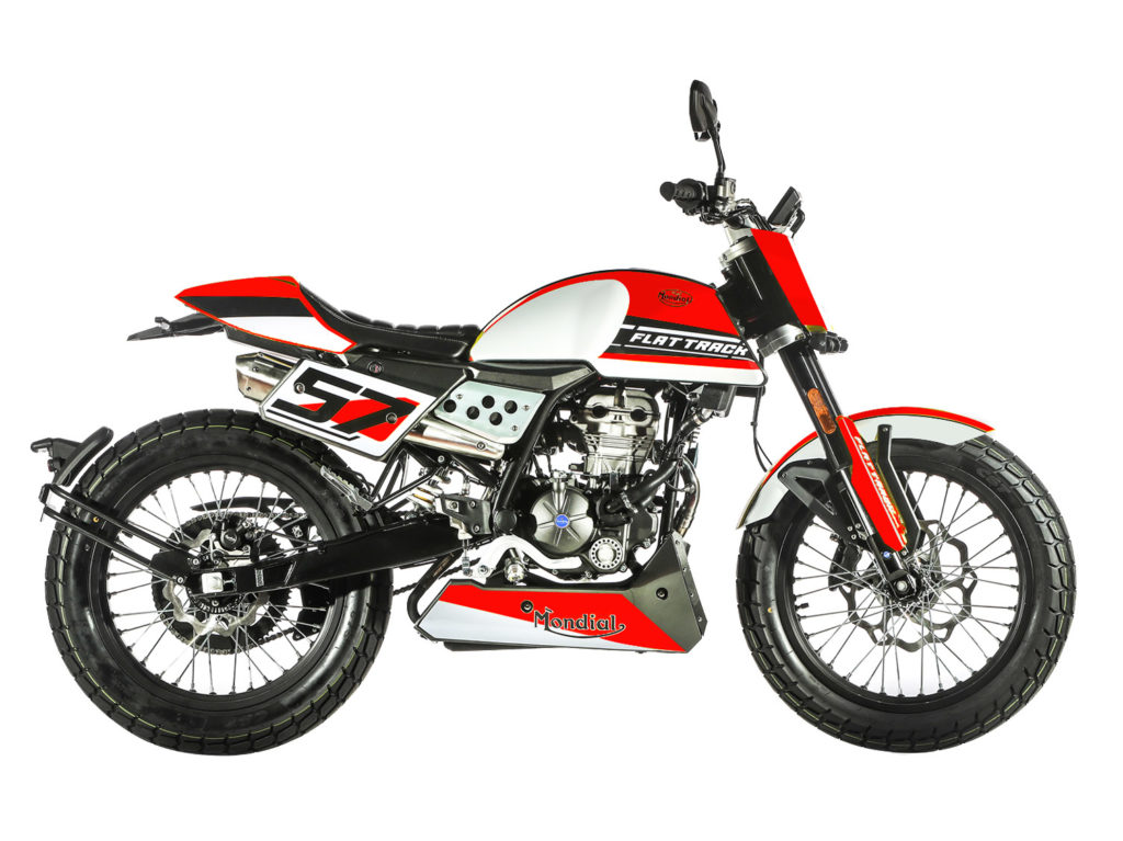 Red Flat Track 125cc
