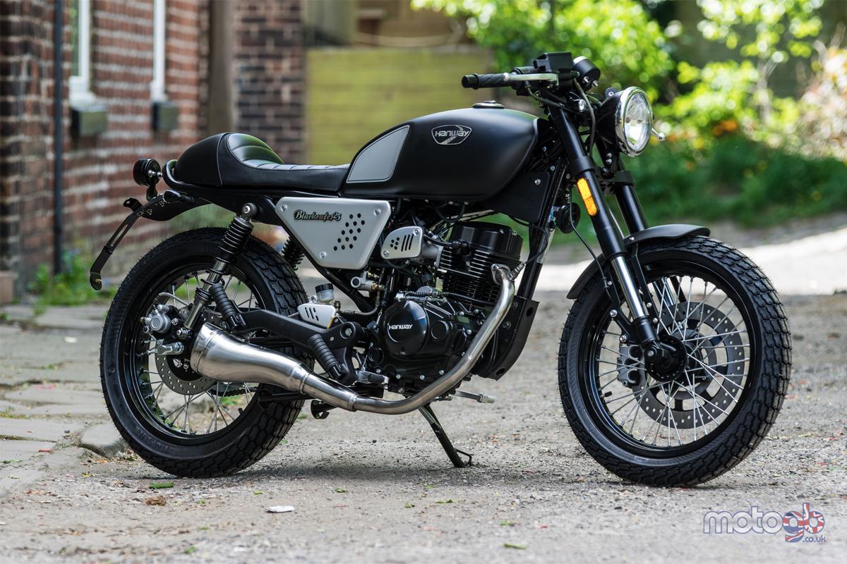 Hanway Black Cafe Racer 125cc