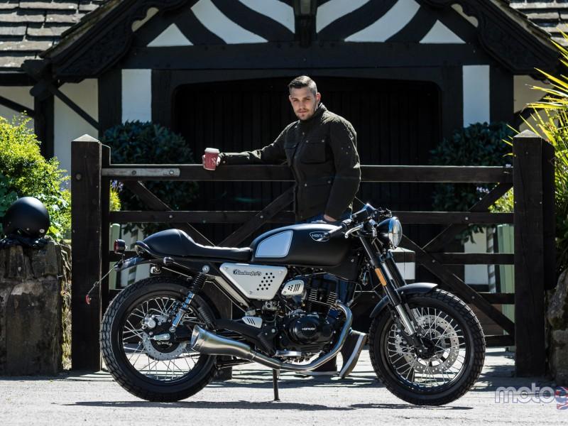 Hanway Black Cafe Racer 125cc 2020