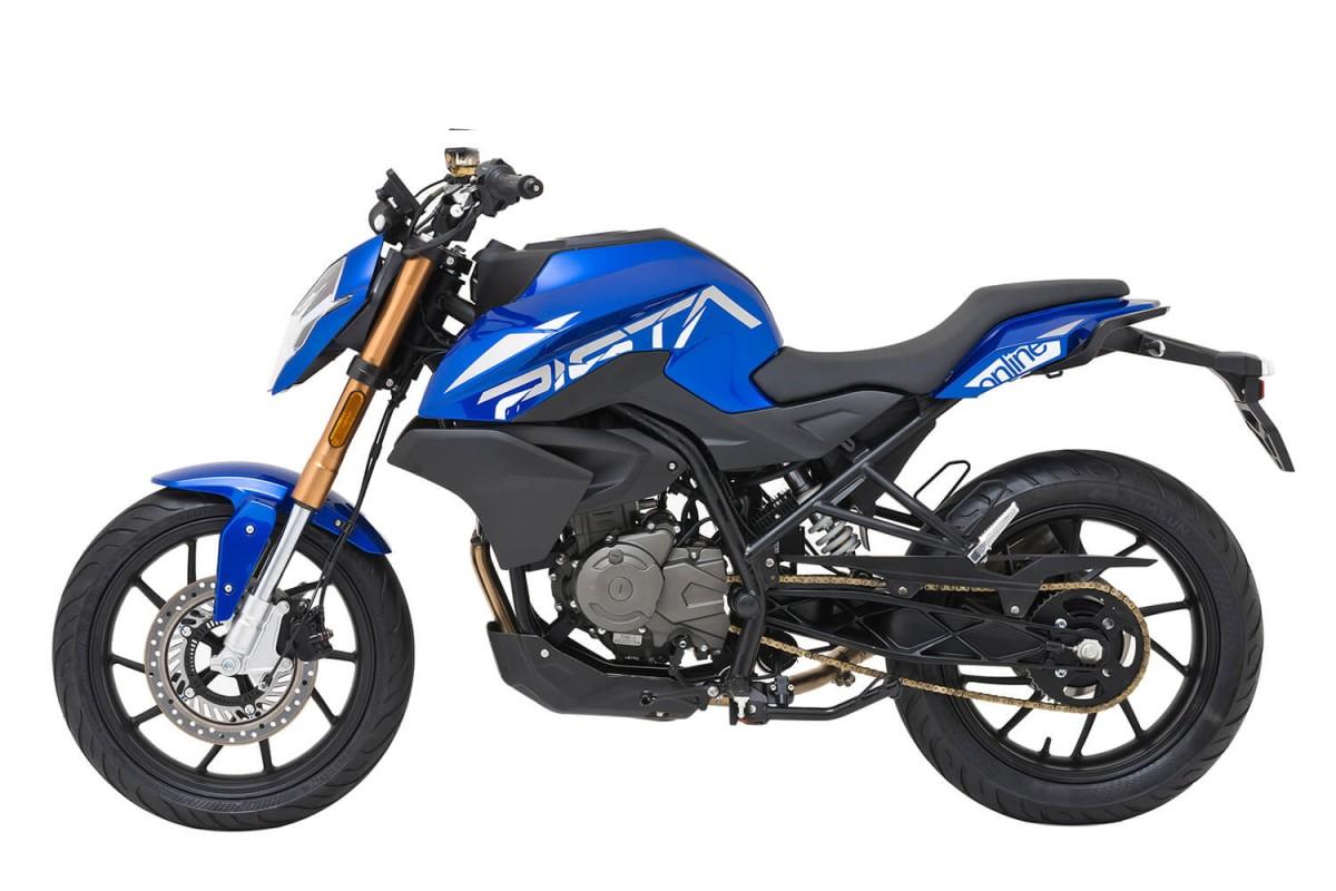 Blue NK 125cc Furious