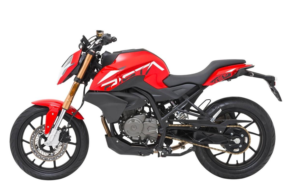 Red NK 125cc Furious