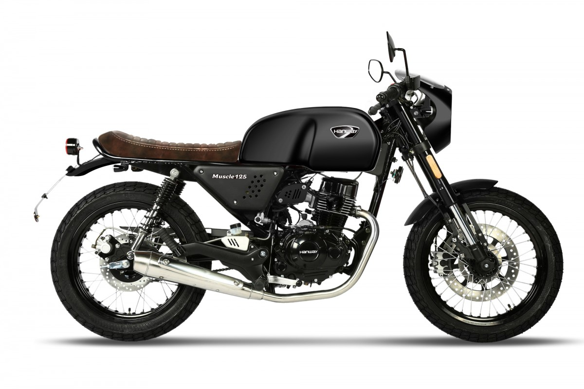 Black (Now  Gloss Black not matt as shown in photos) Muscle 125cc