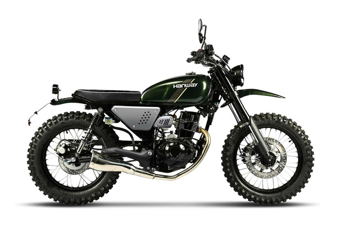 Racing Green Scrambler 125